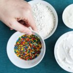 Everything you need to make Funfetti dip at home
