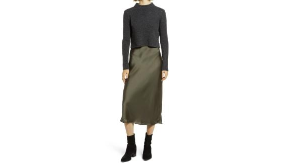 Allsaints Tierny 2-Piece Sweater & Slipdress
