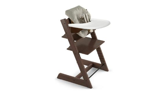 Stokke Tripp Trapp Chair, Baby Set Cushion & Tray Set