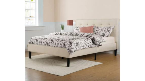 Zipcode Design Leonard Upholstered Low Profile Platform Bed