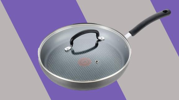 T-fal E76597 Ultimate Hard Anodized Nonstick Fry Pan With Lid
