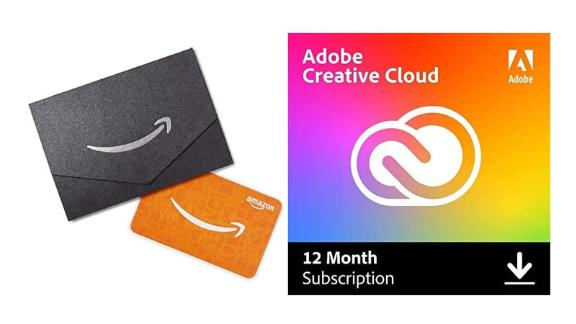 Adobe Creative Cloud 12-month with $10 Gift Card