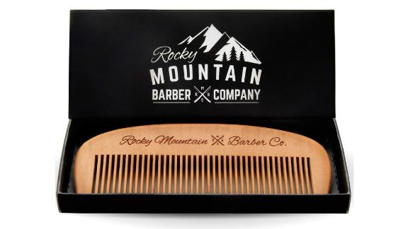 Rocky Mountain Barber Company Wooden Comb