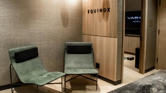 The Body Lab offers performance-driven restorative therapies including custom, self-guided meditation and stretching sessions using the Variis by Equinox app.
