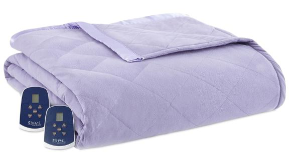 Shavel Micro Flannel 7 Layers of Warmth Queen Electric Blanket