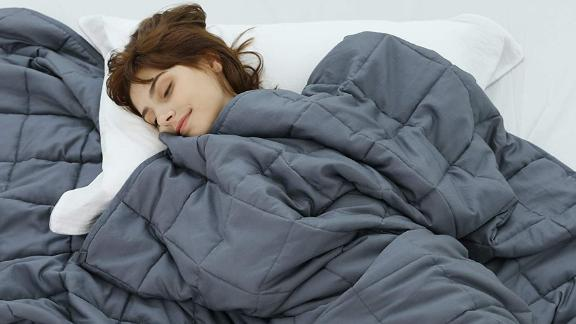 Weighted Idea 15-Pound Cooling Weighted Blanket
