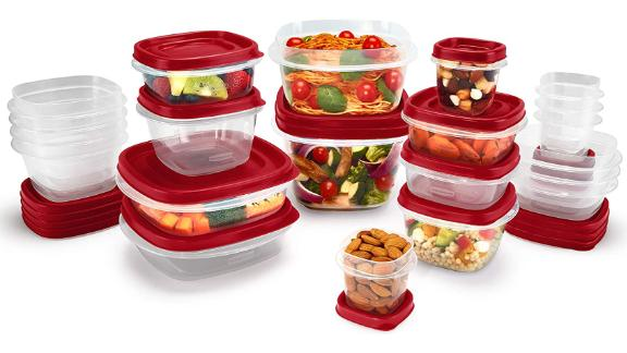 Rubbermaid Easy Find Food Storage Containers, Set of 21