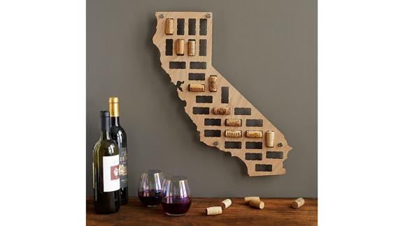 Uncommon Goods Wine Cork States