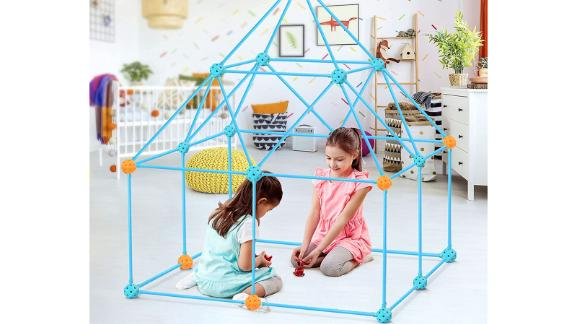 Oucles 132-Piece Kids' Fort Building Kit