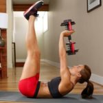 Work up a sweat in small spaces with this compact exercise equipment